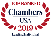 Chambers USA Leading Lawyer 2019
